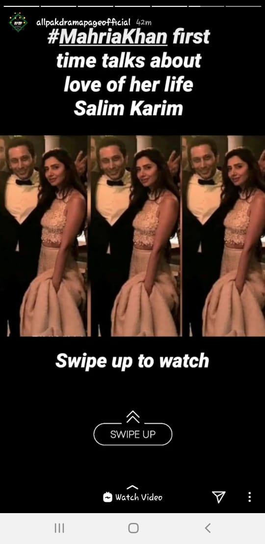 Actress Mahira Khan Finally Revealed Her Mr. Right