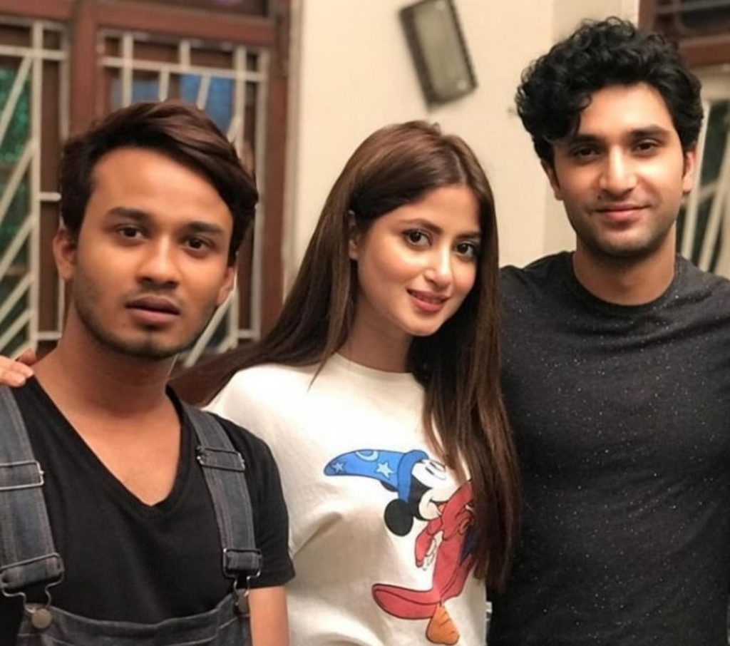 BTS Pictures From The Upcoming Drama Of Sajal And Ahad