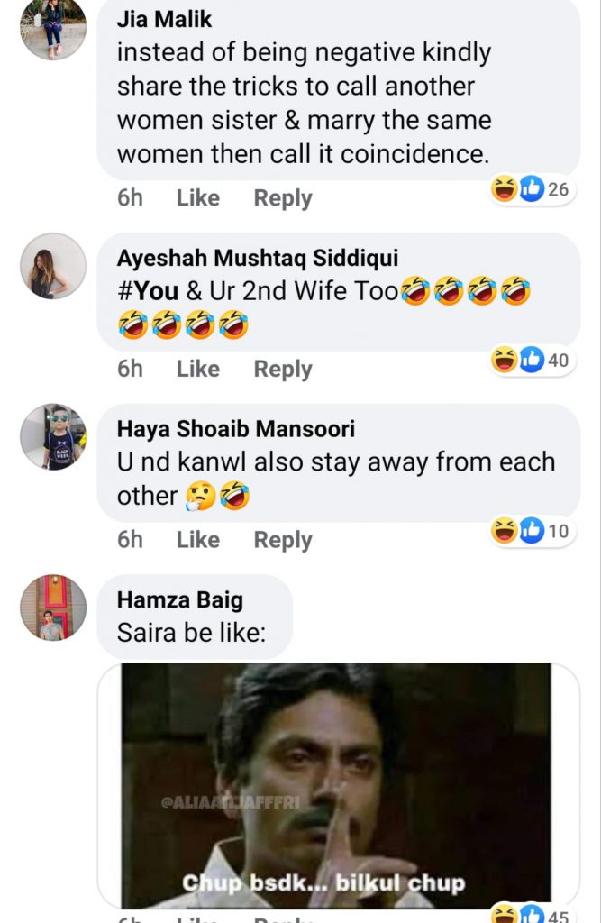 Public Reaction On Shahroz Sabzwari's Latest Post