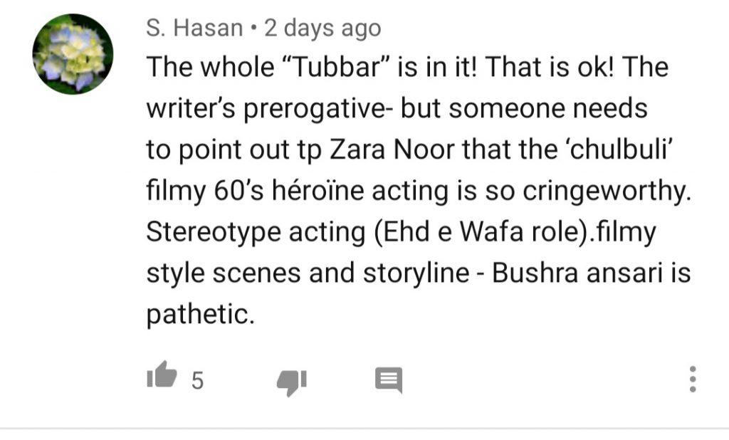 Public Reaction On Drama Serial Zebaish