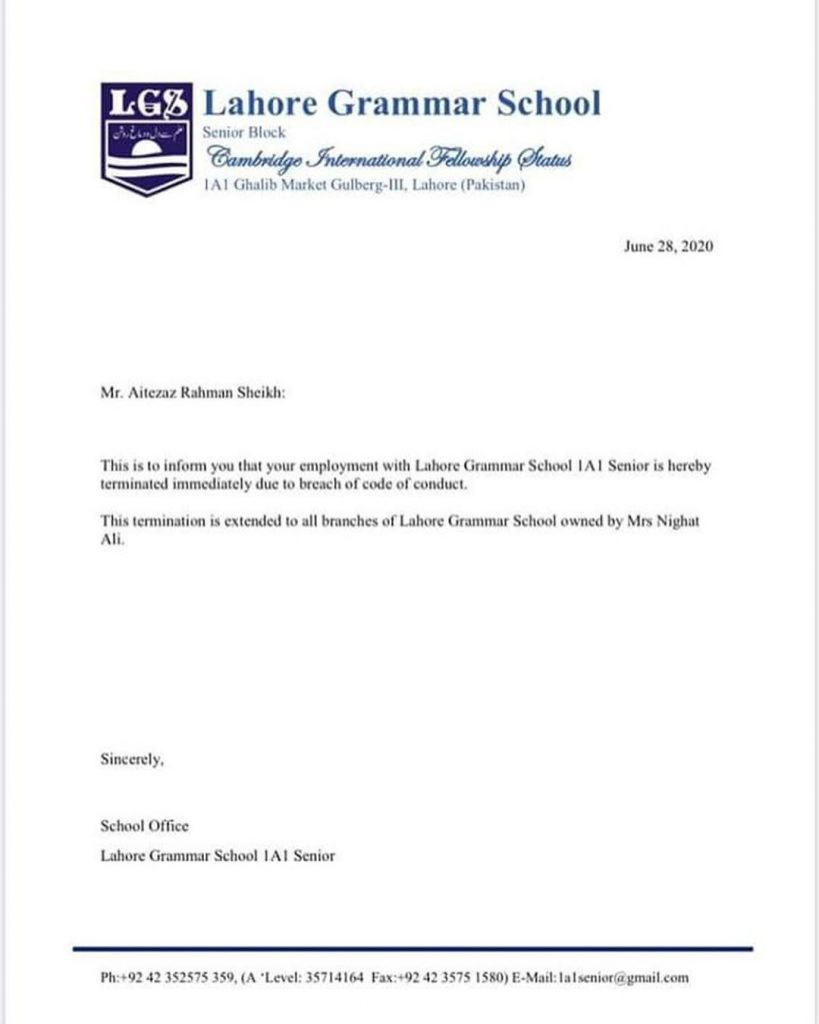 LGS Administration Has Finally Taken Action