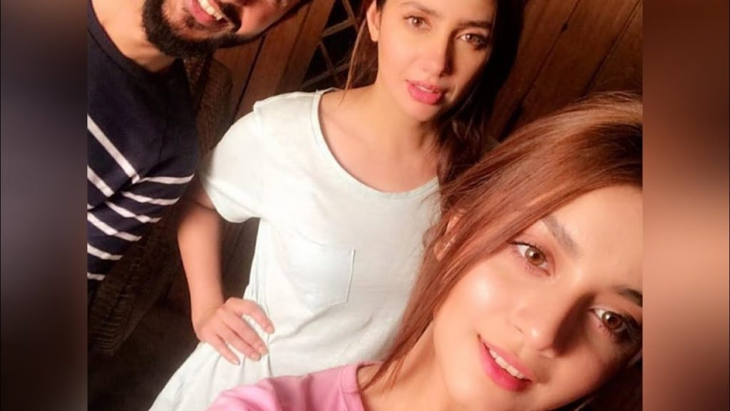 Mahira Khan Alizeh Shah Adorable Video 16