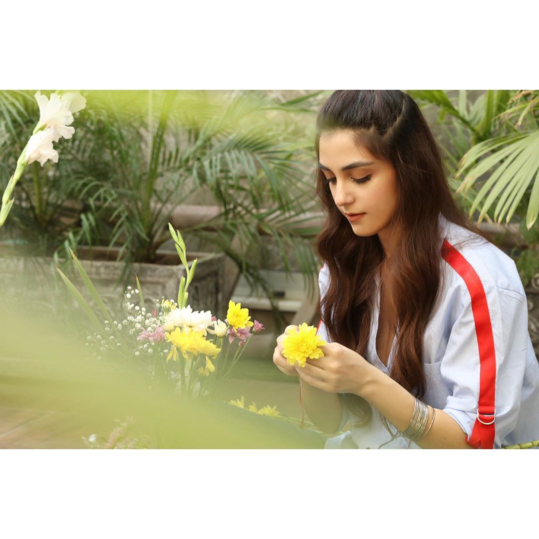 Maya Ali is Looking Gorgeous in this Yellow Dress