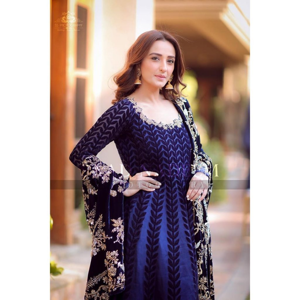 Beautiful Family Pictures Of Momal Sheikh