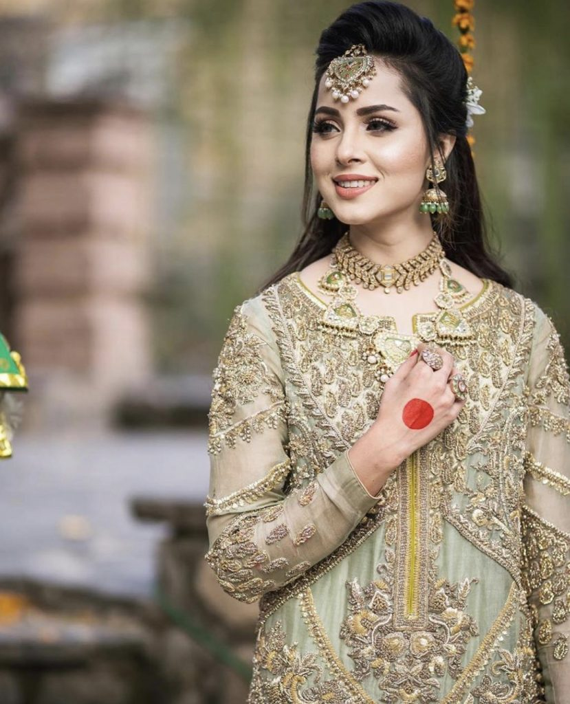 Nimra Khan Look Gorgeous In Bridal Photoshoot