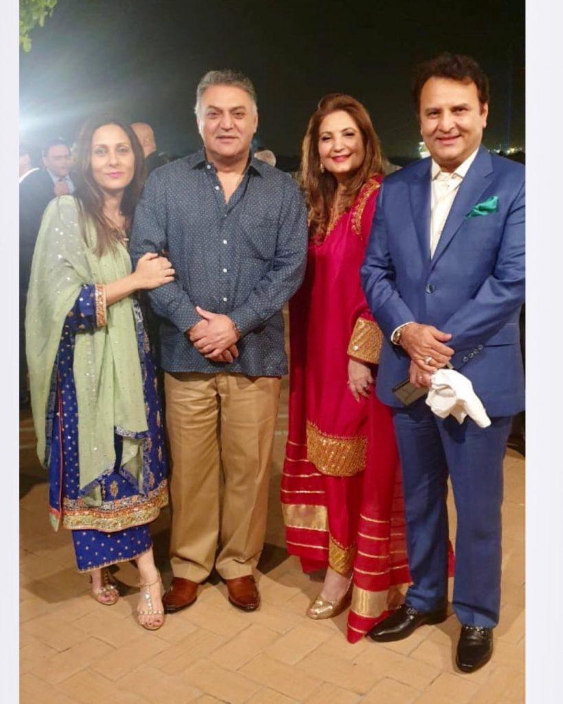 Sadaf Kanwal Spotted In Safina Behrozes Dress On Wedding 1