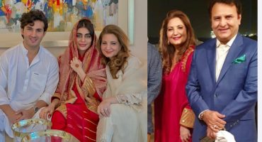 Sadaf Kanwal Spotted In Safina Behrozes Dress On Wedding 14