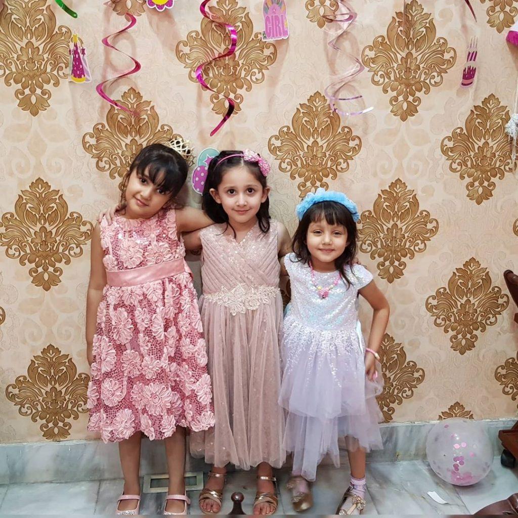 Sami Khan Celebrated Daughter's Birthday