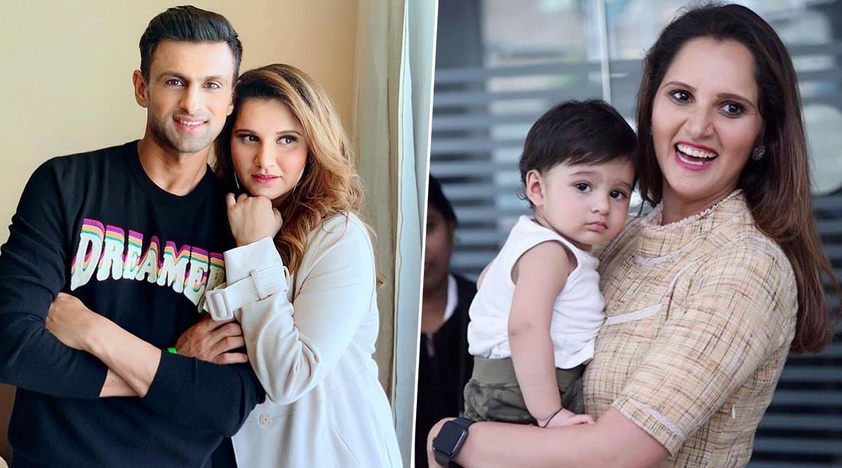 Sania Mirza Latest Clicks with her Son Izhaan Mirza Malik