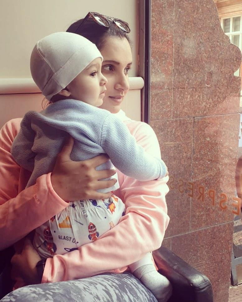 Sania Mirza Shares Adorable Video With Son 25