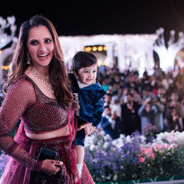 Sania Mirza Shares Adorable Video With Son 28