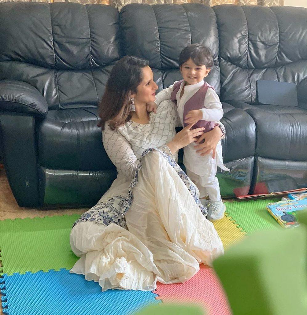Sania Mirza Shares Adorable Video With Son 5