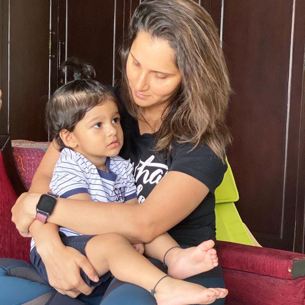 Sania Mirza Shares Adorable Video With Son 7