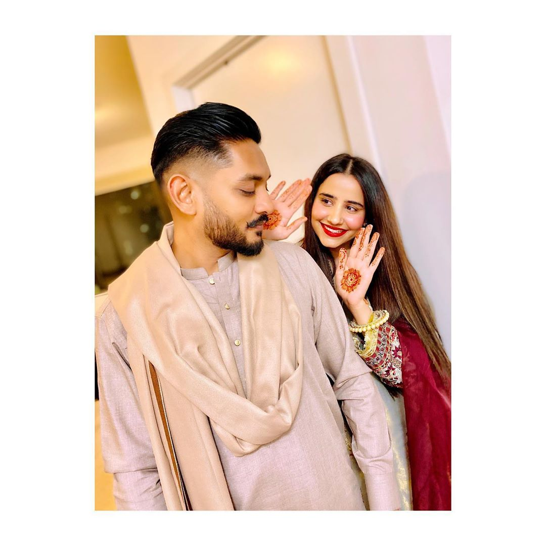 Actress Saniya Shamshad Celebrated Her Husband Birthday