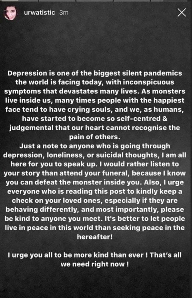 Pakistani Celebrities Speak About Depression & Mental Health Following Sushant Singh's Suicide