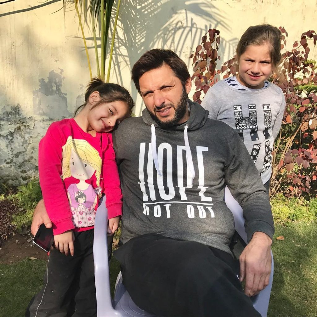 Shahid Afridis Statement About Allowing Daughters For Sports 1