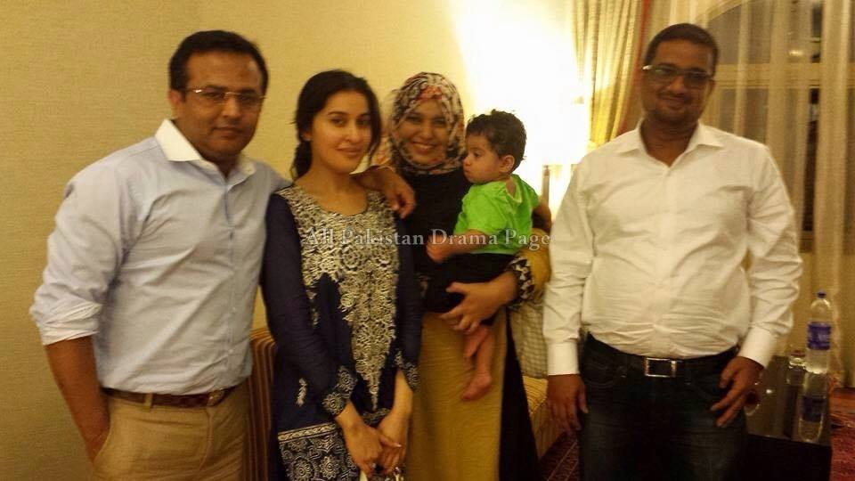 Shaista Lodhi With Her Husband Relatives After Wedding58308667 201578235625
