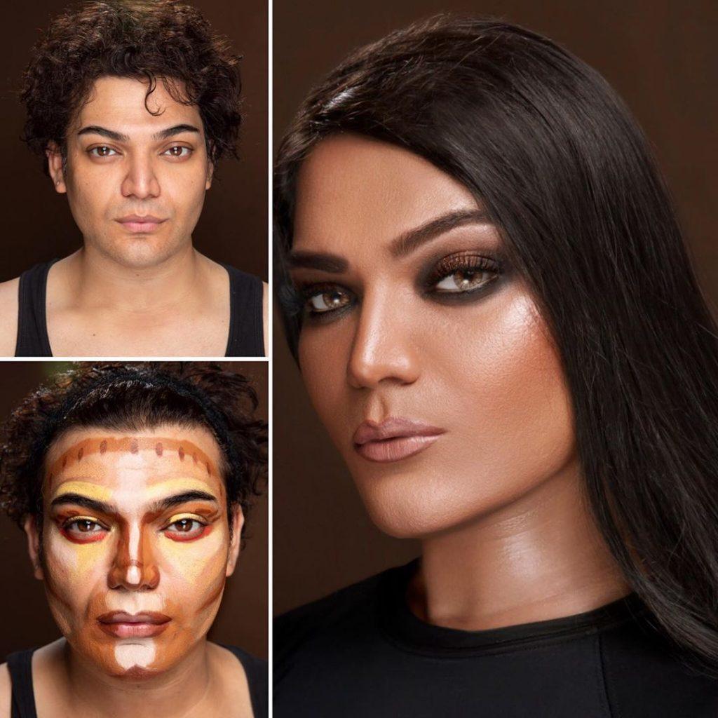 Shoaib Khans Latest Makeup Look Will Surprise You 10