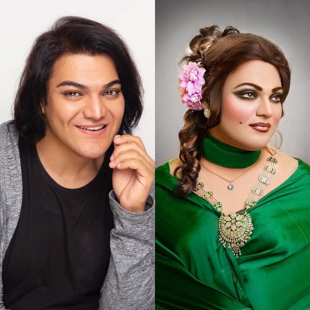 Shoaib Khans Latest Makeup Look Will Surprise You 41