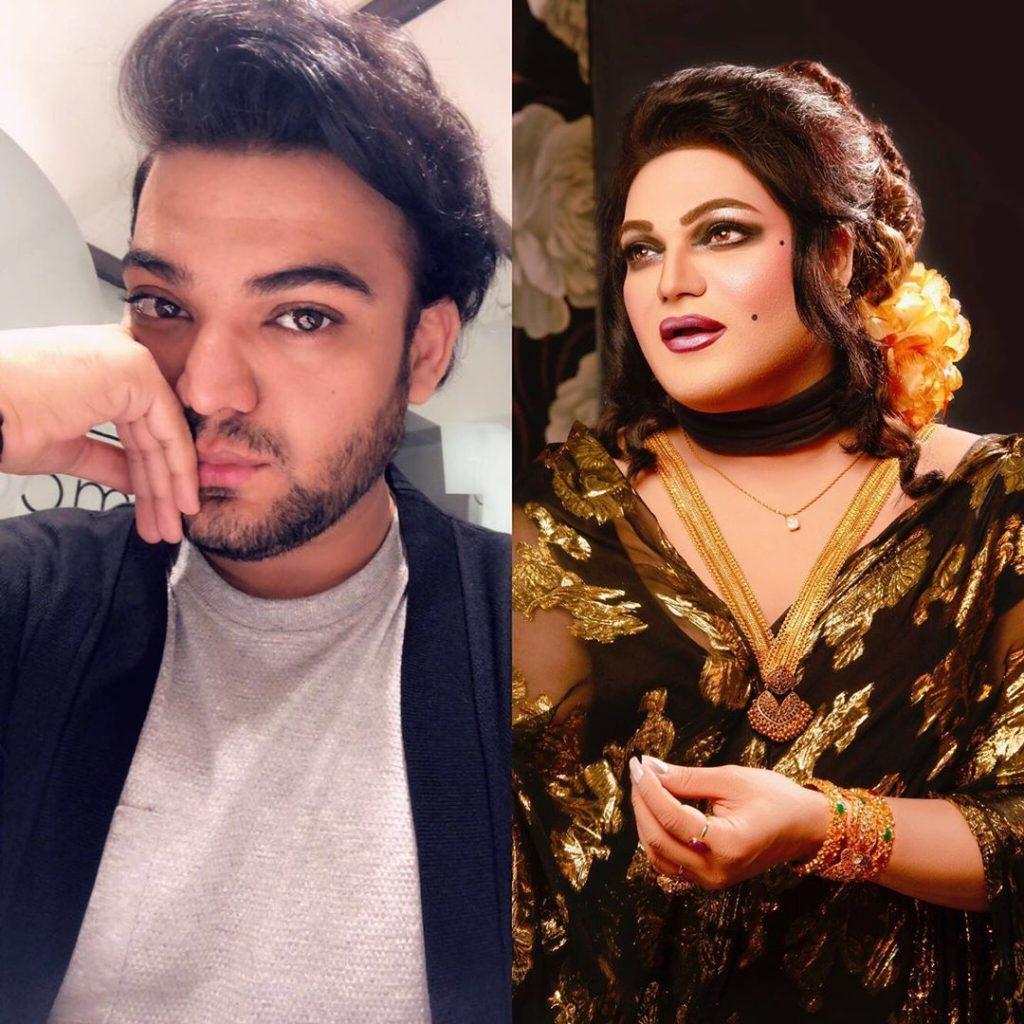 Shoaib Khans Latest Makeup Look Will Surprise You 42