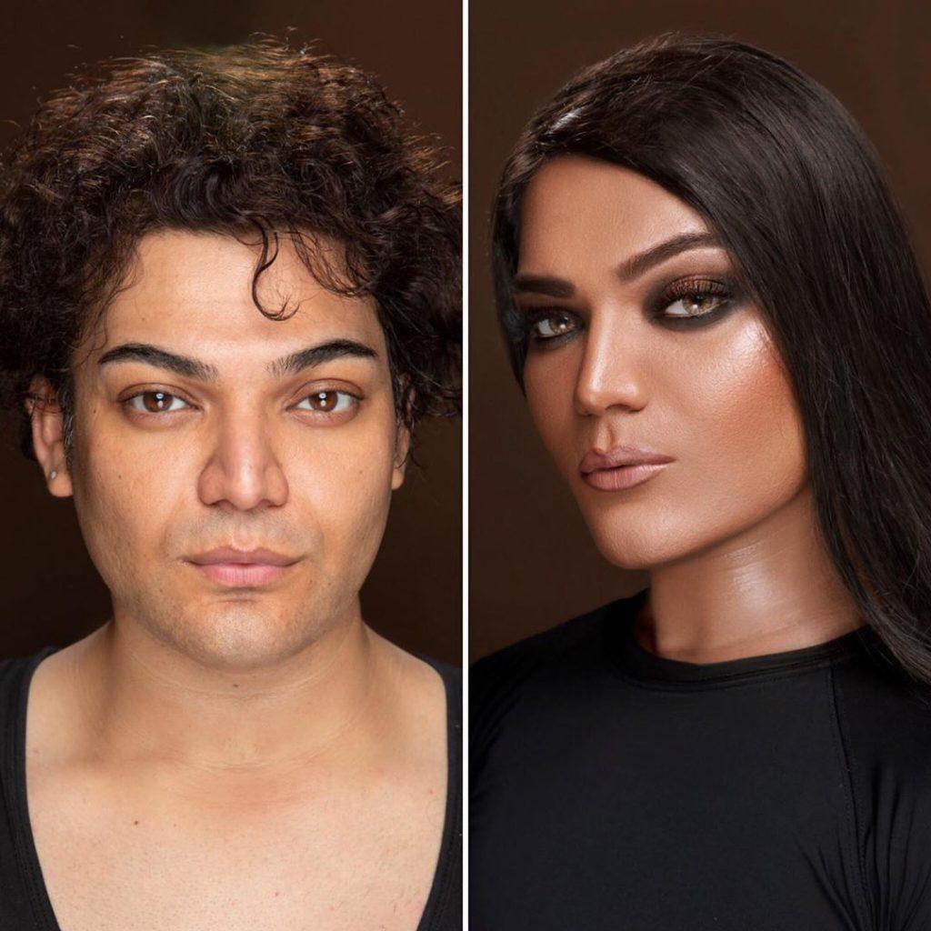 Shoaib Khans Latest Makeup Look Will Surprise You 9