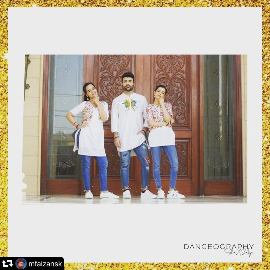 Srha Asghar, Faizan Sheikh Dance Video
