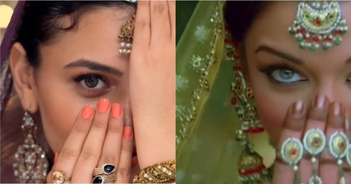 Does Zara Noor Abbas Copy Ashwariya Rai?