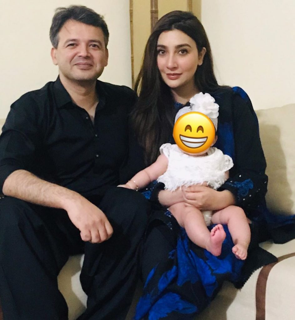 Aisha Khan Shares Adorable Pictures Of Daughter & Husband