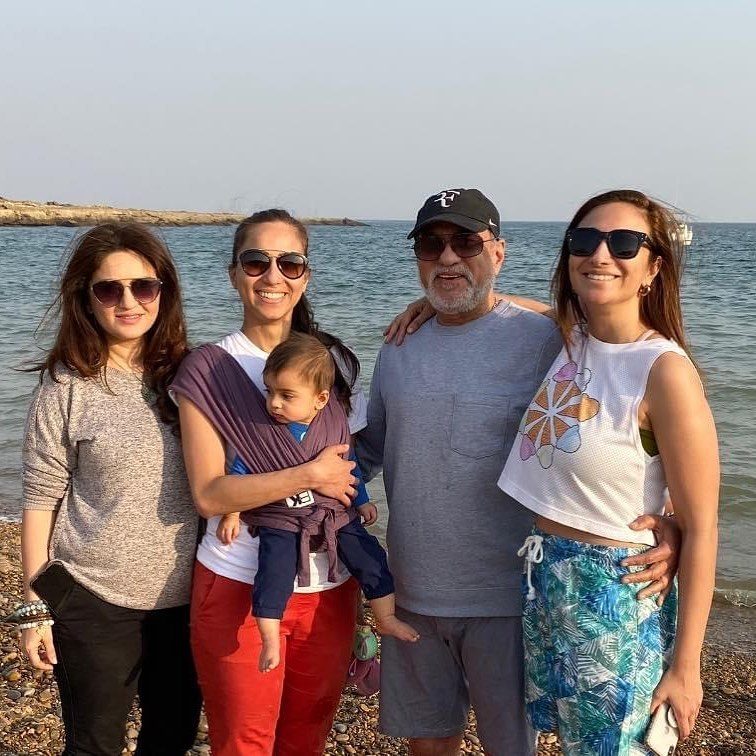 Family Pictures of the Presenter Anoushey Ashraf
