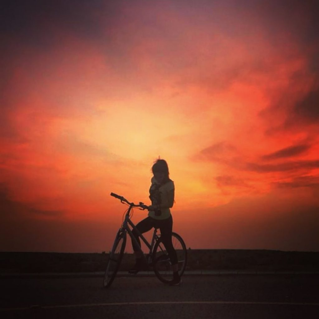 Ayesha Omar's Love For Cycling is Epic