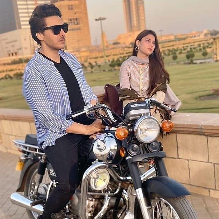 OST Of Ahsan Khan & Ushna Shah's Drama Bandhay Ek Dour Se Is Out