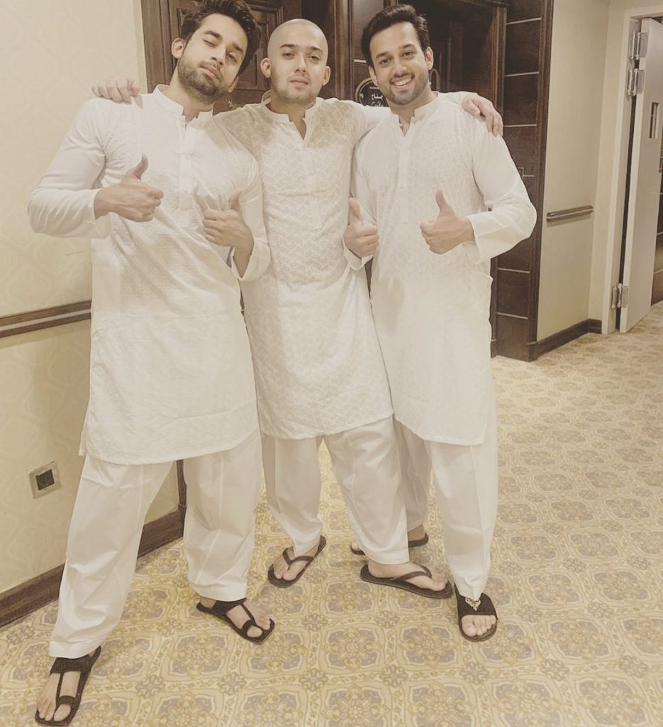 Unseen Pictures of Bilal Abbas with His Siblings