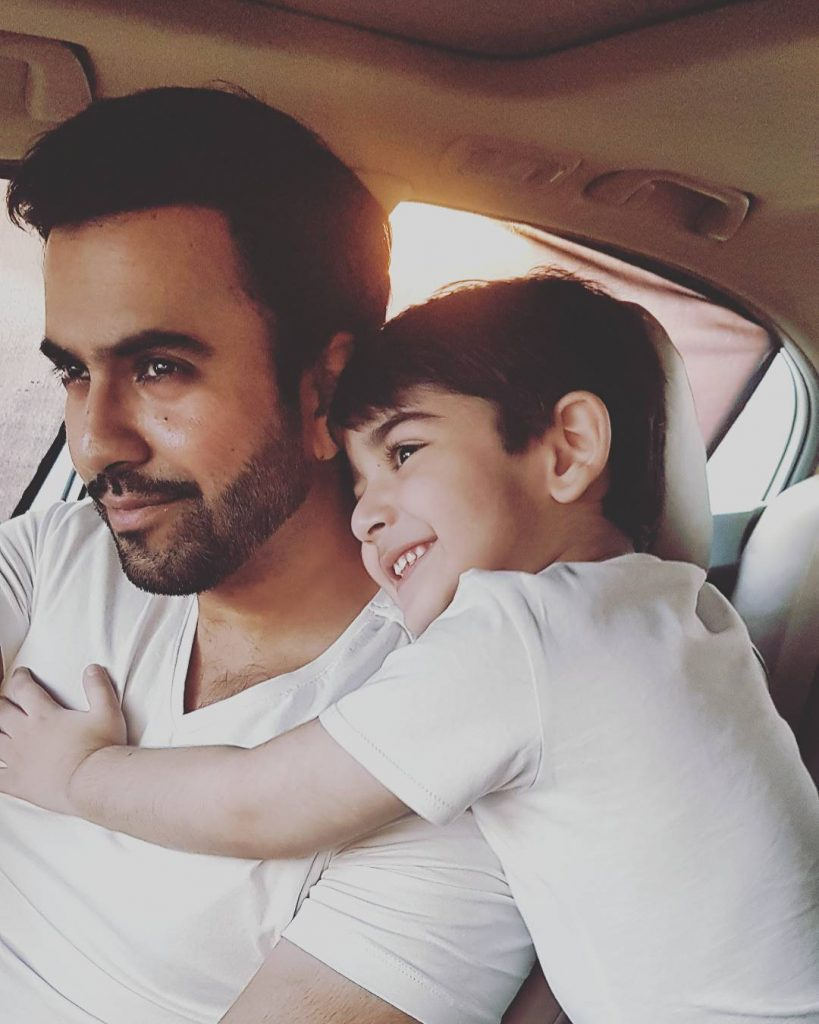 Junaid Khan Loves to Spend Time with His Son- Here is How