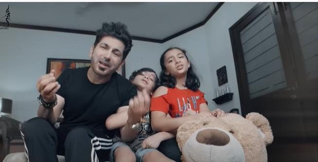 "Faakhir & His Children Create The Best Quarantine Song ""Meri Double Chin"""