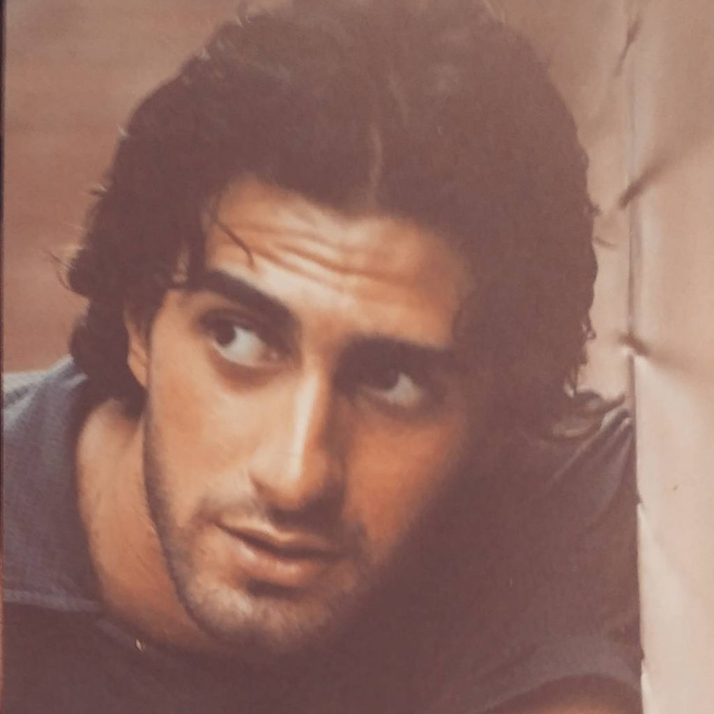 Old Pictures of Emmad Irfani When He Was Young