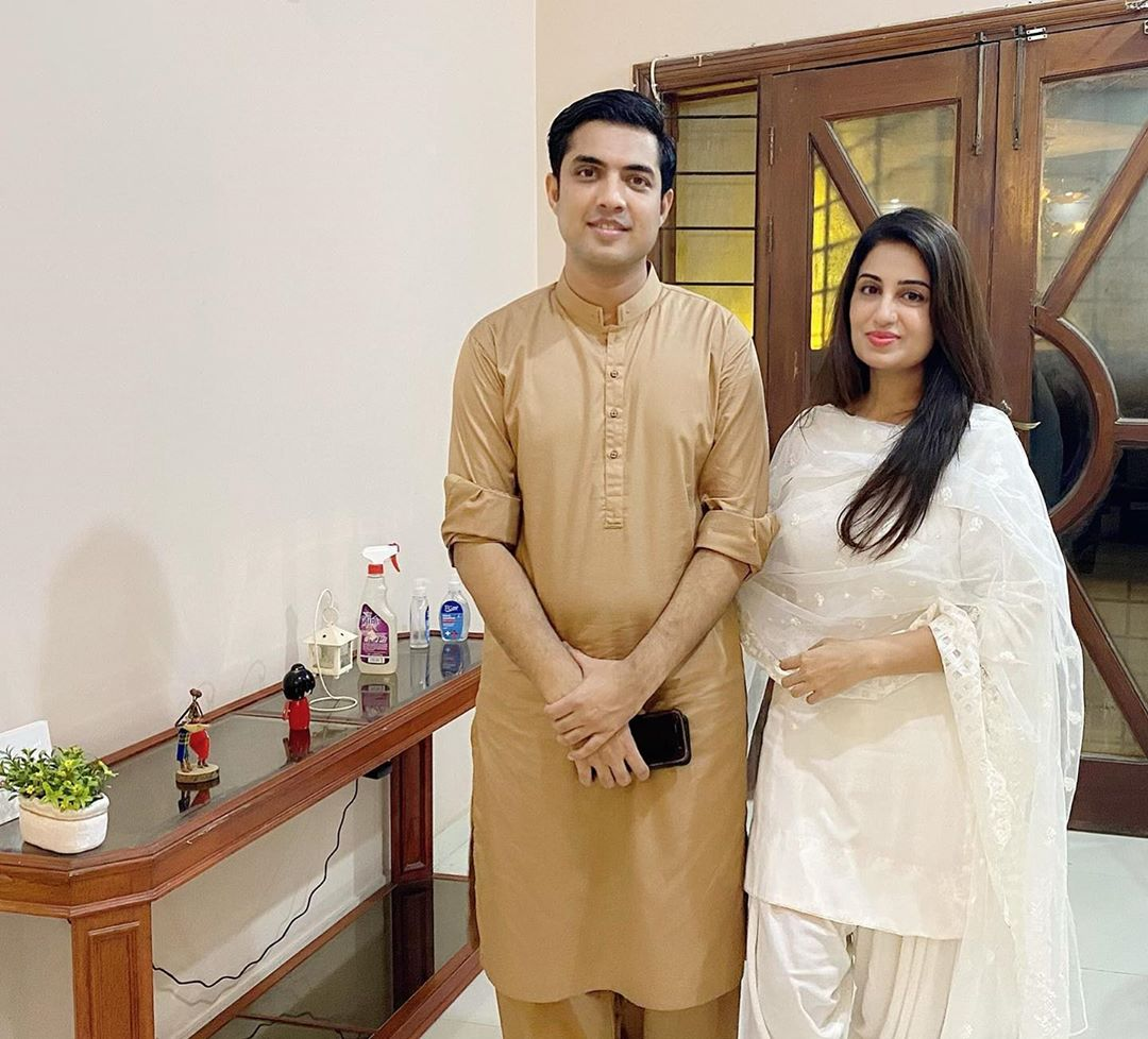 Iqrar ul Hassan with his Wife Farah Iqrar - Latest Pictures