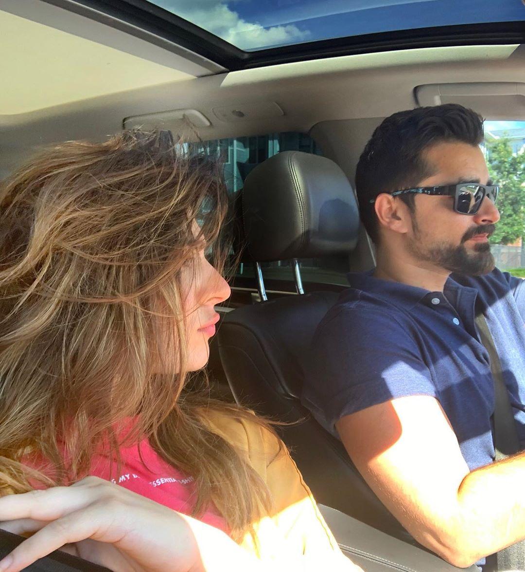Hamza Ali Abbasi and Naimal Khawar Latest Pictures from Canada