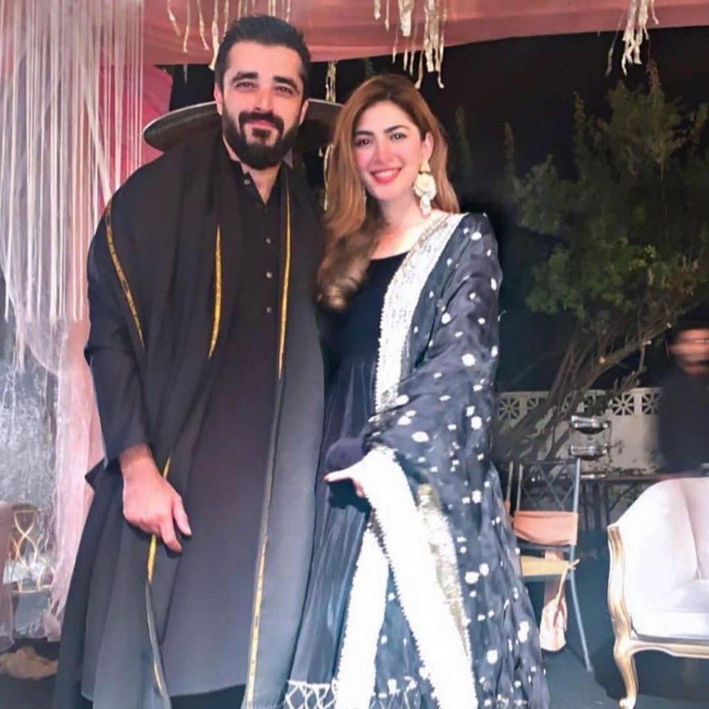 Adorable First Picture Of Hamza Ali Abbasi Son