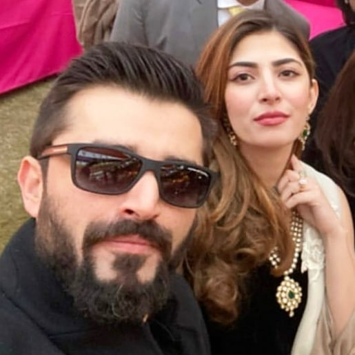 Hamza Ali Abbasi and Naimal Khawar are Made for Each Other – Latest Pictures