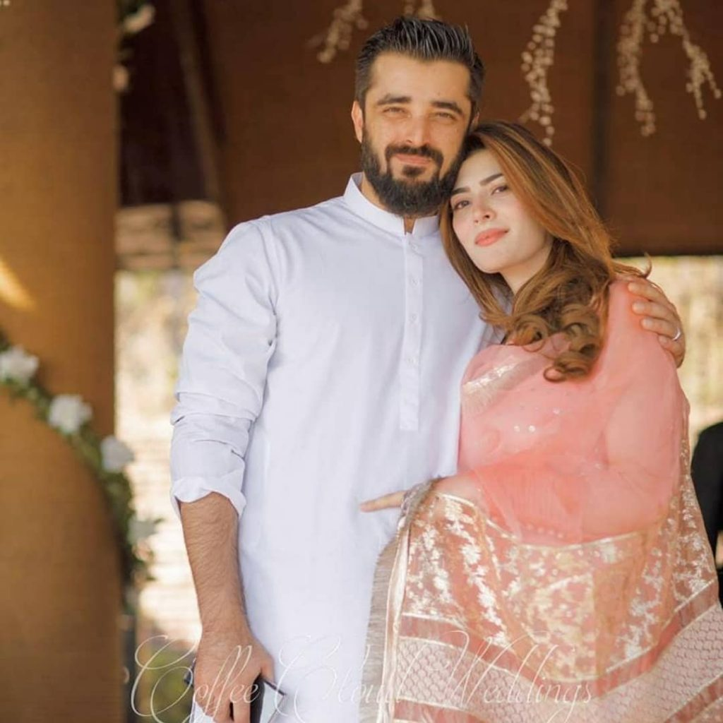 Hamza Ali Abbasi And Naimal Khawar Are Blessed With A Baby Boy