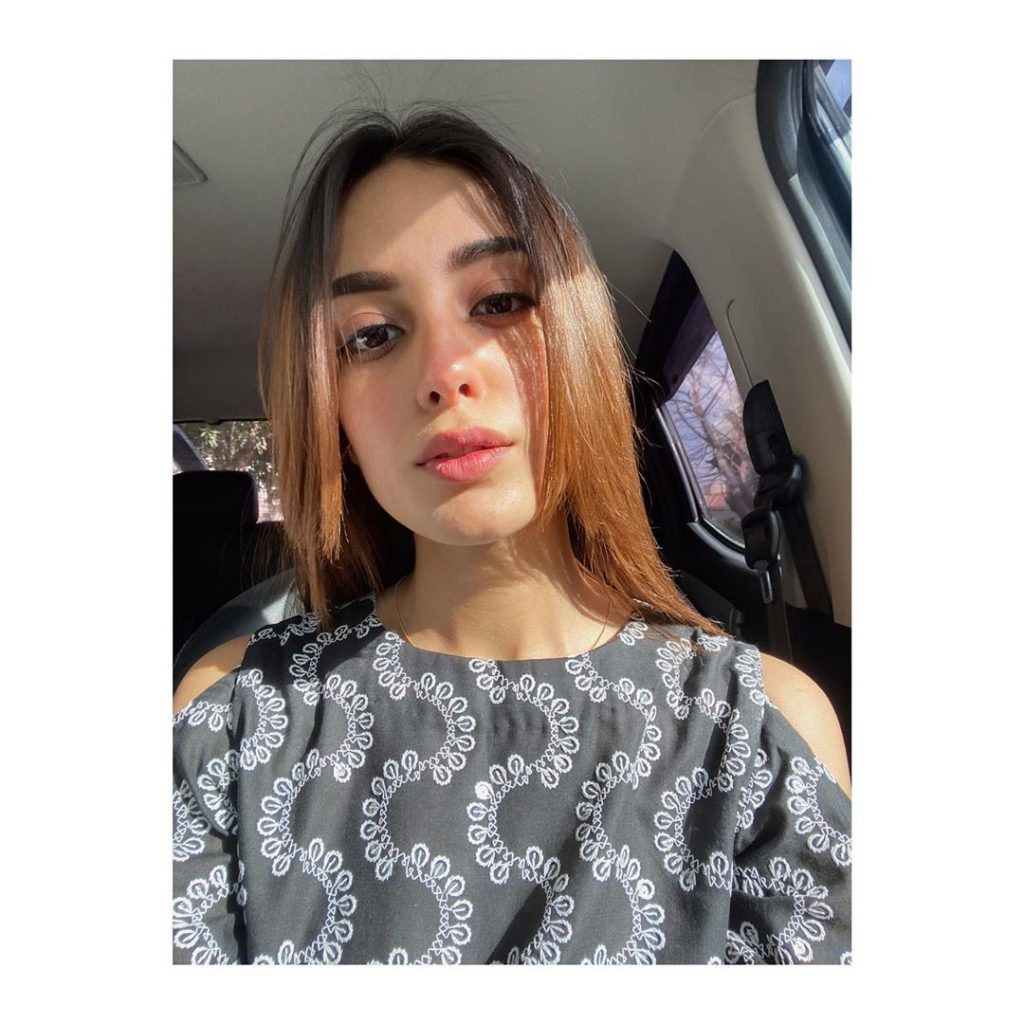 Casual Look of Iqra Aziz is Just Too Cute