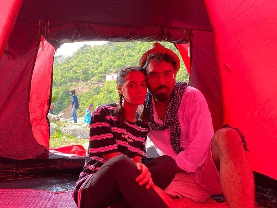 Iqra Aziz and Yasir Hussain Camping in Islamabad - Beautiful Pictures
