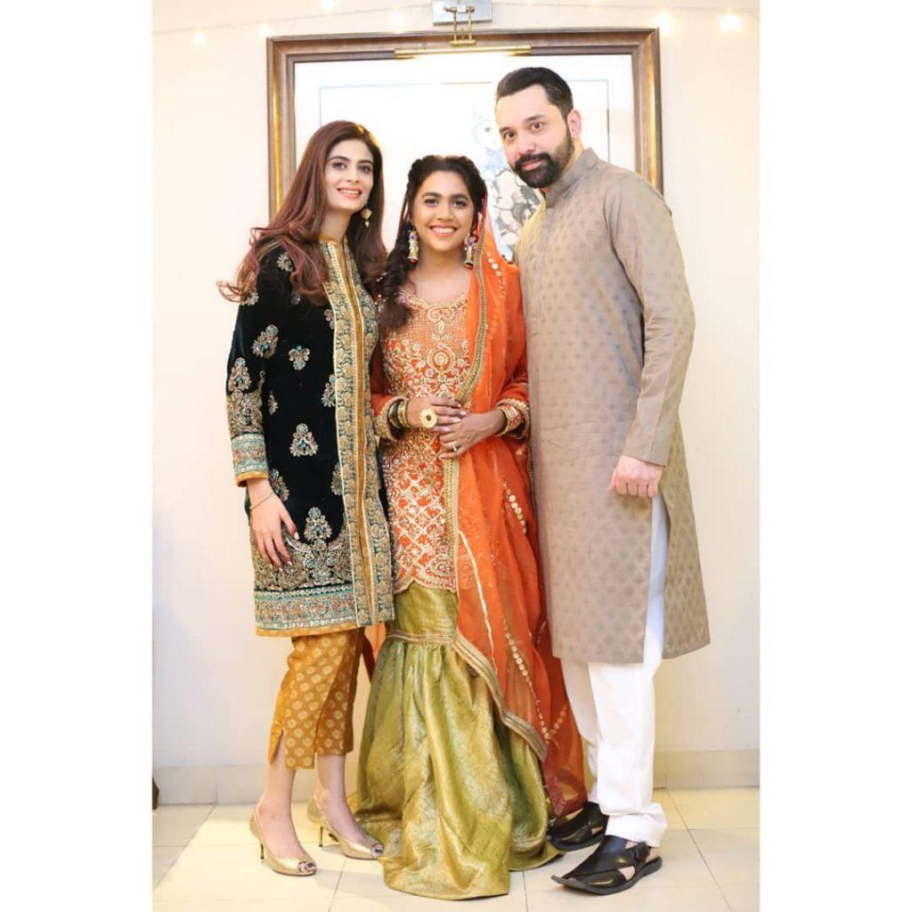Stunning Pictures of Madiha Iftikhar With Husband