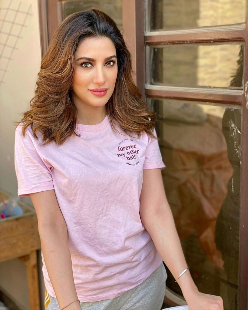 Flawless Out Door Pictures of Mehwish Hayat