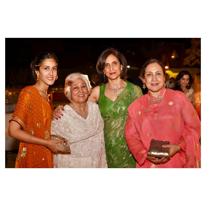 Old Family Pictures of Mira Sethi and Family