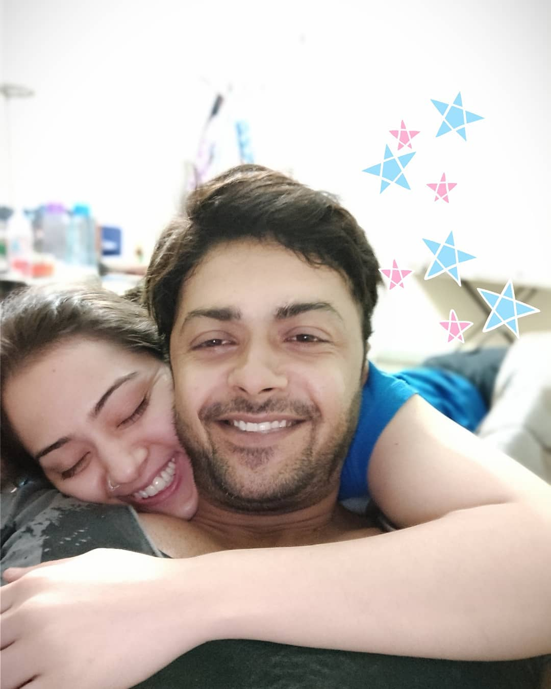 Celebrity Couple Nausheen Ahmed and Ahmed Hassan Latest Pictures