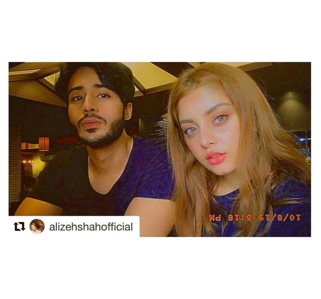 Noaman Sami is So in Love With Alizeh Shah