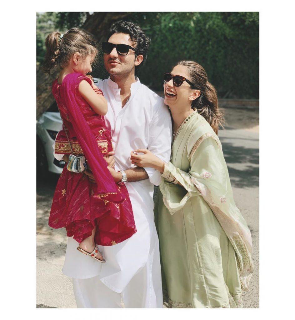 Nooreh Shahroz Celebrating Fathers Day