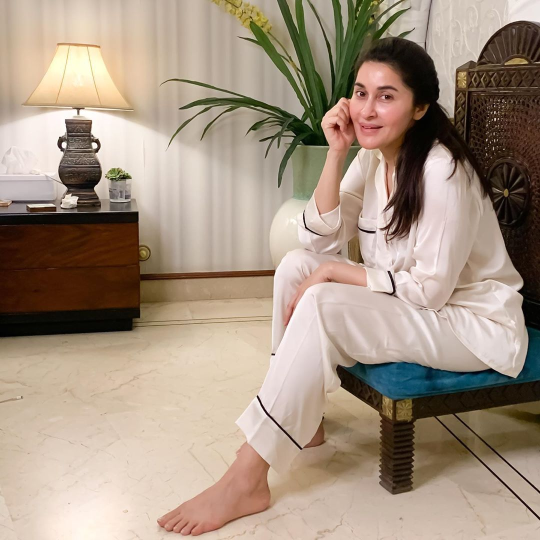 Shaista Lodhi Latest PIctures with her Son Shafay