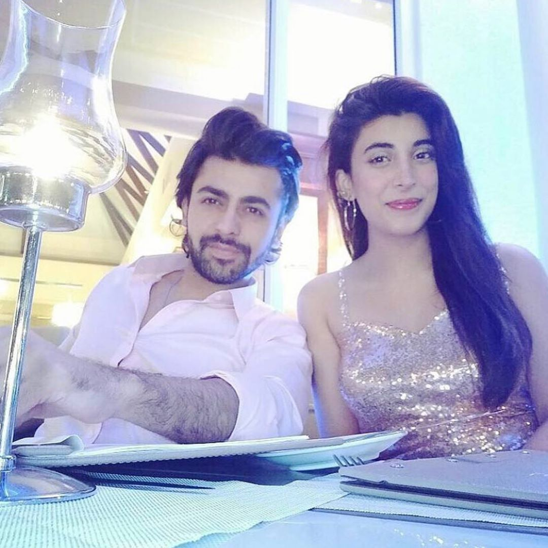 Farhan Saeed and Urwa Hocane Beautiful Couple Pictures
